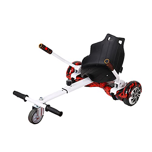 CCCYT Hoverboard Seat Attachment, New Gen Hoverboard Seat, Hoverboard Attachment with Adjustable Frame Length for 6.5' 7' 10' Hoverboard, Suitable for Kids & Adults