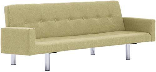Sofá-cama, sofá-cama y la pierna marco de madera cromo sofá,Yellow
