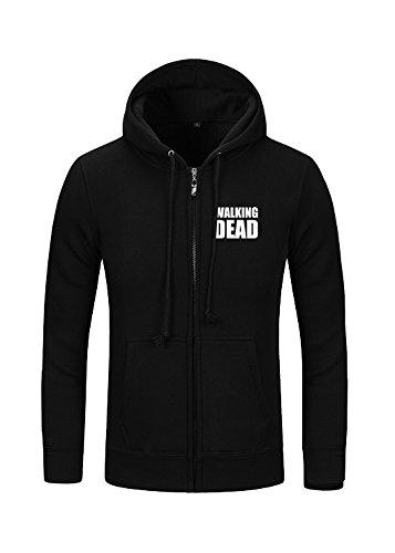 Kostor The Walking Dead Daryl Kapuzenjacke Dixon Flügel Hoodie Damen Herren Pullover Schwarz S