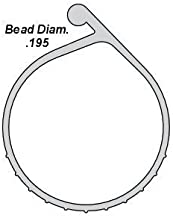 OHD Replacement Weatherseal P-Bulb Bottom Weather Seal Fits Overhead Door Models