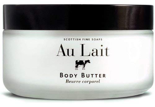 Scottish Inexpensive Fine Soaps Au Lait Enriching Scottis Body by Over item handling Butter Jar