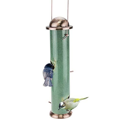 MISS YOU Comedero para pájaros Balcón Aves alimentador de jardín al Aire Libre de la Escuela del alimentador de Aves Silvestres aparatos comedero de Aves comedero for pájaros