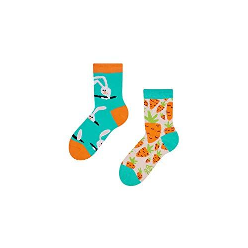 Dedoles Good Mood Carrot Rabbit Unisex Kids Food und Animal Socks 27-30