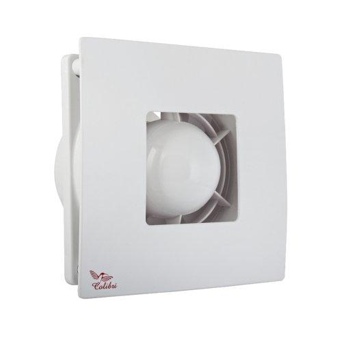 Bad-Lüfter Ø 100 Wand-Ventilator Abluft Weiss Silber Vents Atoll 100 - HAMMERPREIS (Weiss)