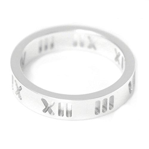 [ティファニー] TIFFANY スターリングシルバー アトラス ナロー リング 指輪 【並行輸入品】 30540484 日本サイズ9号 (USサイズ5号)