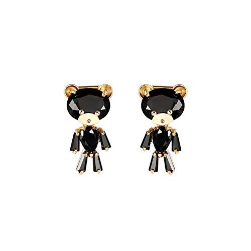 Modetrendörhängen söta öronclips öronklämmor, inga hål i öronen, temperament personlighet flicka hjärta