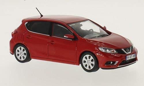 Nissan Pulsar, rouge, 2015, voiture miniature, Miniature déjà montée, Premium X 1:43