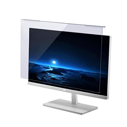 WLWLEO Desktop Computer Screen Protector Film Anti Blue Light Anti Glare Screen Filter Screen Protector for 17'-28' Laptop Notebook Computer Monitor Reduces Eye Strain,24' 540 * 331