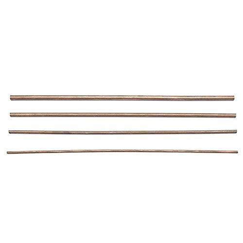 Kupferrohr 300 mm Länge 2 mm / 3 mm / 4 mm / 5 mm Durchmesser