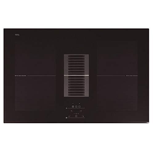 Allcata AIRS 750 Induktionskochfeld mit Tisch-Dunstabzugshaube Down-Draft 77cm / Autark / 7,6 kW / 9 Stufen/Flex-Zone/Touch Select Sensortasten/Booster/LED-Anzeige