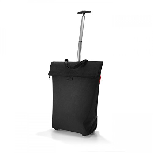 Reisenthel Trolley M, Einkaufstasche, Einkaufskorb auf Rollen, schwarz, NT7003
