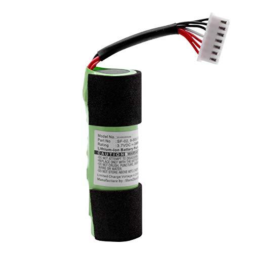 vhbw Batería Compatible con Sony SRS-X2 Bluetooth Altavoz, reemplaza SF-02, 9-885-197-08 - (Li-Ion, 2400mAh, 3.7V) - Batería de Repuesto