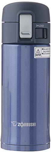 Zojirushi Stainless Steel Mug, 12-Ounce, Smoky Blue