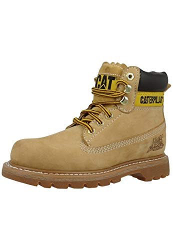 Cat Footwear Herren Colorado Stiefel, Beige Nubuck, 37 EU
