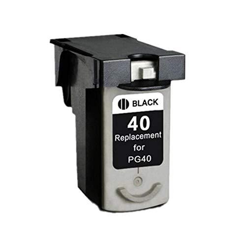 TZZD PG40 CL41 Pg-40 CL-41 - Cartucho de tinta compatible con Canon Pixma MP160, MP140, MP210, MP220, MX300, MX310, IP1800, IP2500, IP1600, IP1200, color negro, 1 unidad