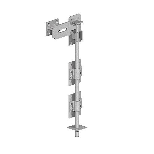 Galvanised Gatemate 5204501 P34 Garage Door Bolts 450 mm