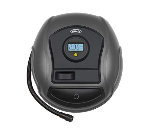Ring Automotive Ring RTC300 12V Compact Digital, Air Compressor, Pump 3.5 min Tyre Inflation, Valve Adaptors large image