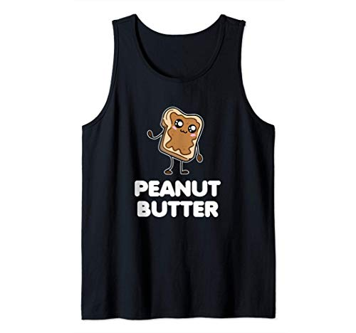 Disfraz de mantequilla de cacahuete. Parejas divertidas a Camiseta sin Mangas