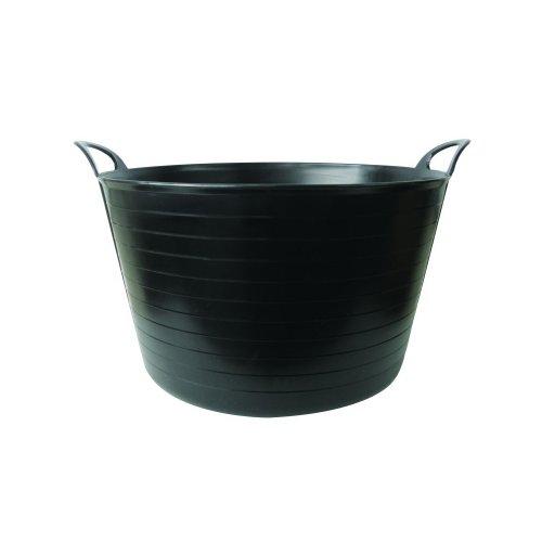 STADIUM GROUP SPL0340 Flexi Tub Feed, Black, 75 Litre