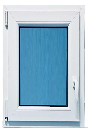 ECO-BLU V40T Ventana Pvc 700x1000 oscilobatiente apertura Iquierda 1h, Blanco, 700x1000mm