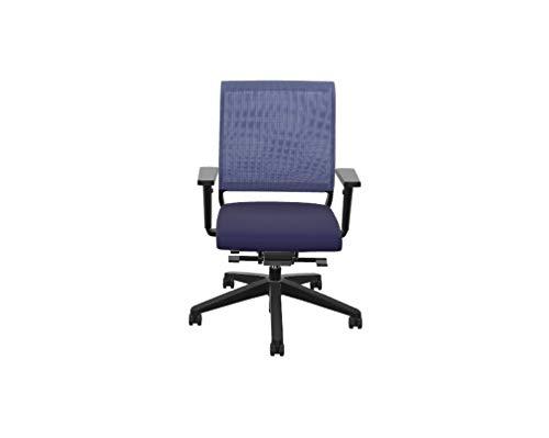 Sedus Netwin nw-100 Bürostuhl mit Netzrücken, ideal für das Home-Office, 5 Jahre Garantie, dunkelblau