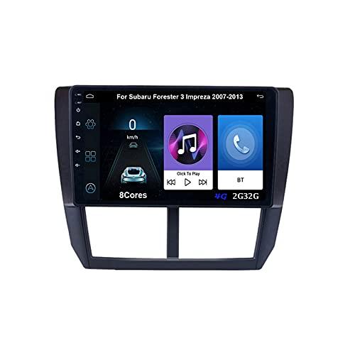 Autoradio Mit Navi Auto Player Radio Autoradio Bluetooth Navigations GPS Für Subaru Fürester 3 Impreza 2007-2013 Auto Zubehör Einfügen Und Verwenden Car Video Player Carplay
