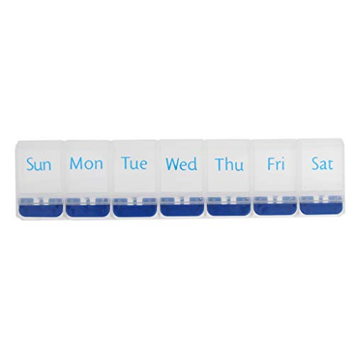 7 Tage Tablettenbox Tag Nicht teilbar Pillen Tabletten Box Schachtel Tablettendose Pillendose Pillenbox Tablettenboxen Pillendosen Pillen Dose