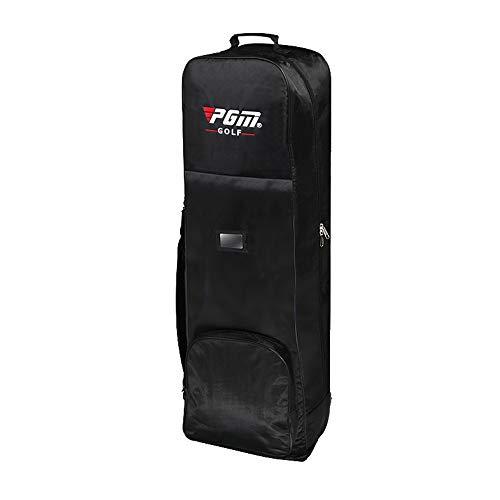 Tragbare Golftasche Reiseabdeckung Mit Rädern,Leichte Faltbare Golftasche Gepäcktasche wasserdichte Nylon Golf Aviation Tasche,Reiseschutzhülle Für Golfschläger