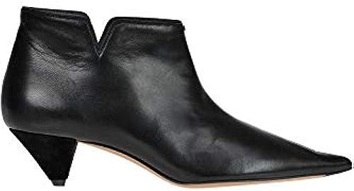 Céline &Soft V& Leather Ankle-Stiefel Woman