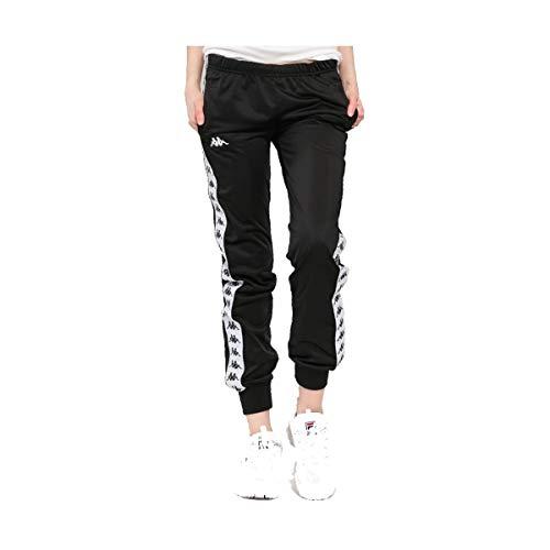 Kappa Pantalone Donna 222 Banda WRASTORIA Slim Nero, XS