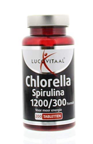 lucovitaal chlorella spirulina kruidvat