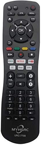 MYHGRC Mando a Distancia Universal de TV para Mando Universal Samsung, Vizio, LG, Sony, Panasonic, Toshiba, Philips, SEIKI, Hitachi, JVC,TCL,VESTEL,RCA Smart TV,con Control Remoto Universal