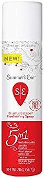 Summer's Eve Feminine Deodorant Freshening Spray, 2 FL OZ