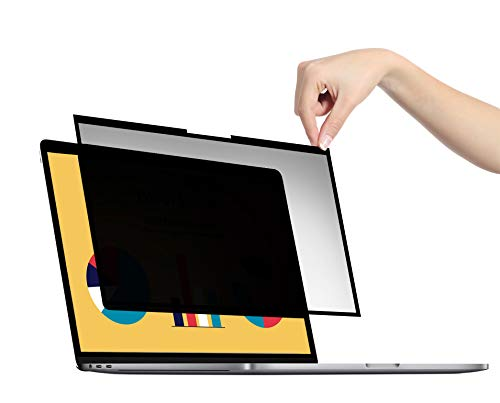 VistaProtect - Filtro Privacy Premium, Pellicola de Protezione per Laptop e Computer Portatile Schermo con Schermo in Vetro A Bordo Piatto (14