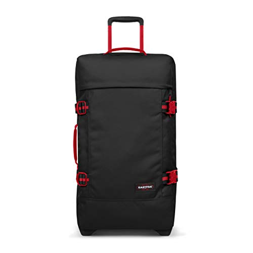 Eastpak Tranverz M Maleta, 67 cm, 78 L, Negro (Blackout Sailor)