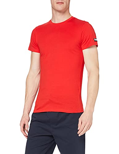 Kempa Team Tee-Shirt Homme, Rouge, FR (Taille Fabricant : 4XL)