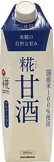 マルコメ プラス糀 糀甘酒LL 紙パック 1L×6本入【×2ケース:合計12本】