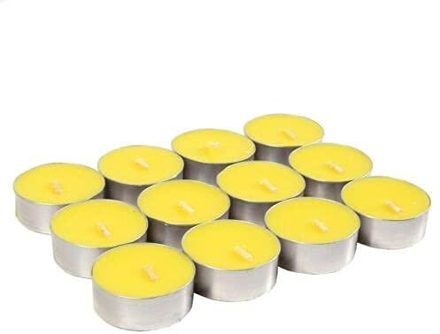 Karrma Ltd Price's Citronella Tealights | Outdoor Citronella Tealights candle | Insect Mosquito Fly Repellent Tealights for Outdoors, Indoors, Garden (Pack of 50) sold