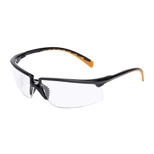 3M Solus Schutzbrille SOLCC1, klar – Arbeitsschutzbrille für leichte Reparaturarbeiten – Anti-Kratz- & Anti-Beschlag-Beschichtung