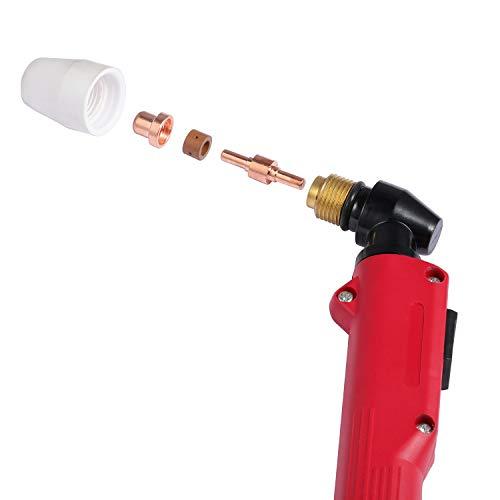 Plasma cutting torch PT31 Schweißpistole 40A with plasma cutter 5M 16Ft LGK40 CUT40 - 6