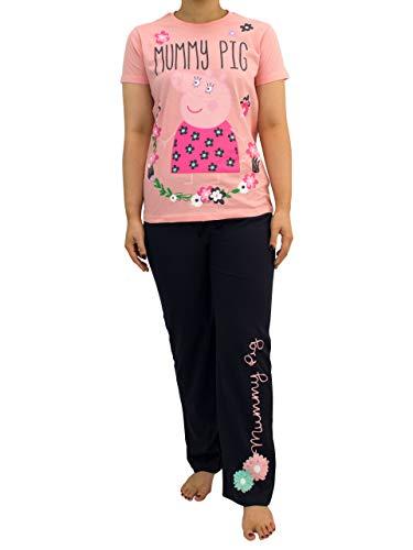 Peppa Wutz Damen Mummy Wutz Schlafanzug Rosa Medium