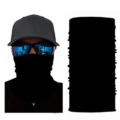 4Clean 3D Schlauchschal Halstuch Sturmmaske Gesichtsmaske Kopfbedeckung Outdoor Bandana Balaclava Motorrad Ski Biker UV-Schutz Sonnenschutz Staubschutz Maske (S58)