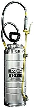 Smith Performance Sprayers 190448 Concrete Sprayer 3.5 Gallon Capacity Stainless Steel