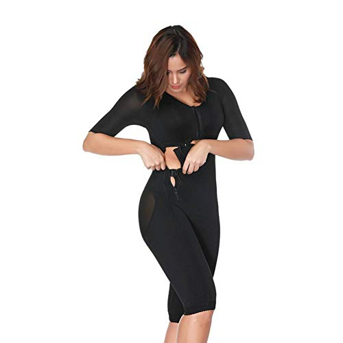 WHFDSSY Ganzkörper-Armformeranzug nach der Operation, Powernet-Gürtel, schwarzer Taillentrainer, Korsetts, die Shapewear abnehmen