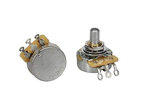 Potenziometro Cts 250K Audio Tono Volume Logaritmico Solid Shaft Per Chitarra Elettrica O Basso Elettrico Fender CTS250-A57