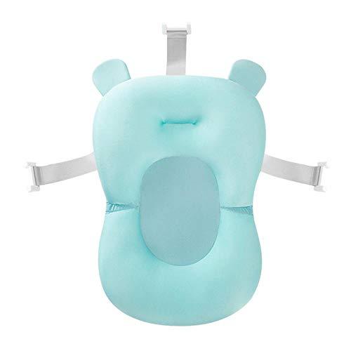 Preisvergleich Produktbild JPZCDK Tragbare Baby Matratze Dusche rutschfeste Säuglingsbad Kinder Luftpolster Bett Sicherheit Kind Kinder Dusche Pool Zubehör,  Himmelblau