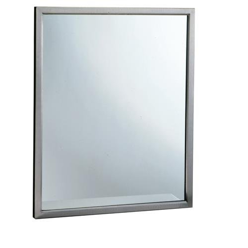 Bobrick - B-2908 1830-18 in by 30 in Welded Frame Mirror with -