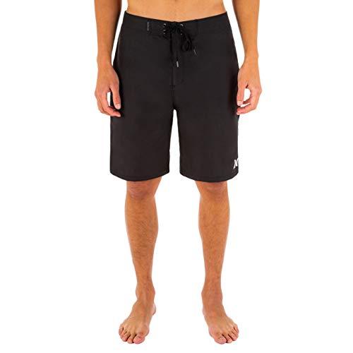 Hurley Herren Badeshorts One and Only Boardshort, schwarz, 3 EU, KHW2Y0150630