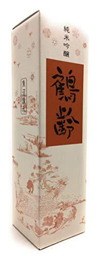 ☆【日本酒】鶴齢(かくれい)純米吟醸720ml箱入り