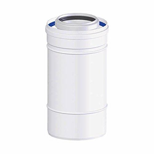 TEN tolerie - Rallonge de ventouse condensatoire (longueur : 0.50M - D.80/125)